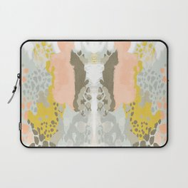 Upton - Abstract painting perfect for dorm room phone case abstract art and feminine abstract art Laptop Sleeve