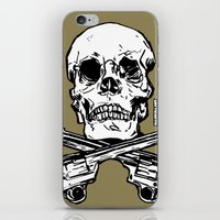 kindle iPhone & iPod Skins featuring 113 by ALLSKULL.NET