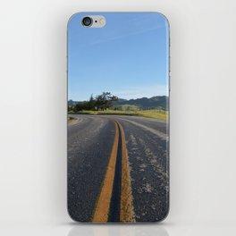 CA Road iPhone Skin