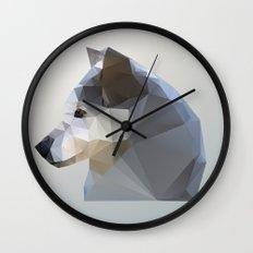 GEO - WINTER FOX Wall Clock