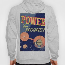 Power For Progress 1955 atomic power print. Hoody