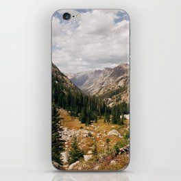 The View from Above 10,000 ft - Wyoming Wilderness iPhone Skin