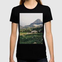 Montana Mountain Goat Family T-shirt