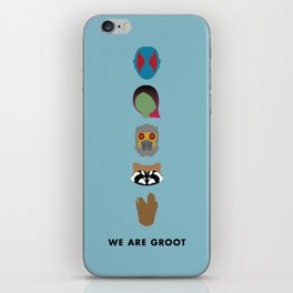 We Are Groot iPhone Skin