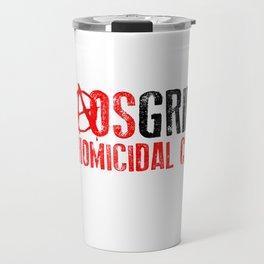 Chaos Grimm LOGO Travel Mug
