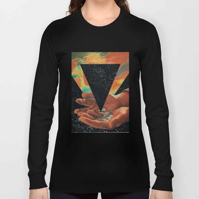 disruption of his world... (Paradise) Long Sleeve T-shirt