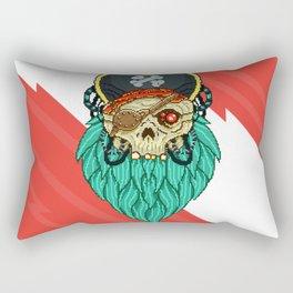 Pixel Pirate Rectangular Pillow