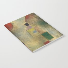 Red Balloon by Paul Klee Notebook