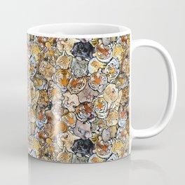 Big Cat Collage Coffee Mug