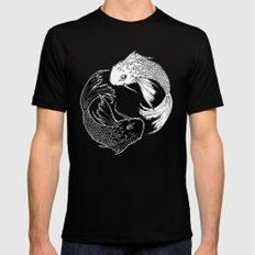 Yin &Yang X-LARGE Mens Fitted Tee Black