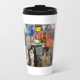 Art Is Collage: A Tribute to Artists Travel Mug