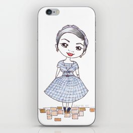 Vintage Gal ~ Nora Finds iPhone Skin
