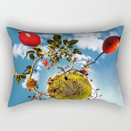 Rosehips Planet Rectangular Pillow
