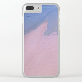 Beach Love, Beach Bliss Clear iPhone Case