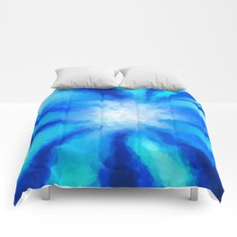 Tropical Sea Flower Comforters