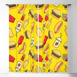 Fast food Blackout Curtain