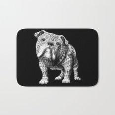 English Bulldog Bath Mat