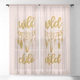 Wild Child Sheer Curtain