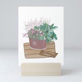 Garden Mini Art Print