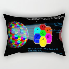 Network reused frequency Rectangular Pillow