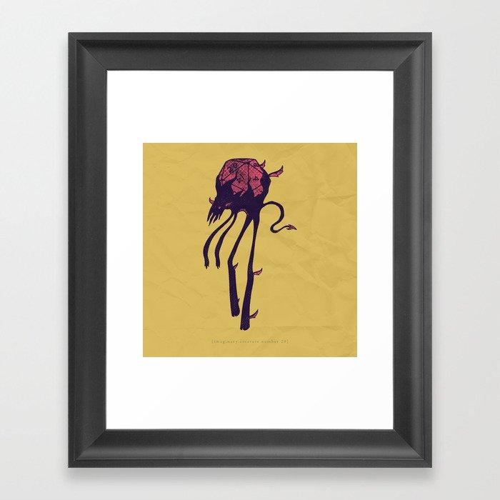 d20 Framed Art Print