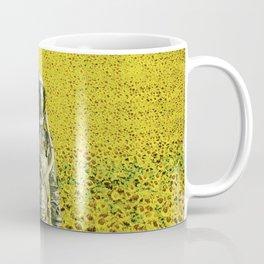 Stranded in the sunflower field Coffee Mug