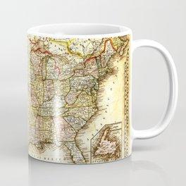 1867 USA Map Coffee Mug