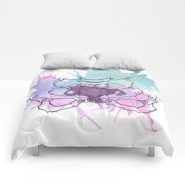 Uterus Splat Comforters