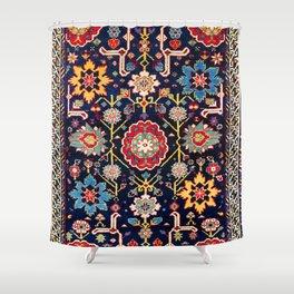 Shirvan Caucasian Afshan Antique Rug Print Shower Curtain