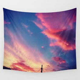 Sunset in Hermosillo Wall Tapestry