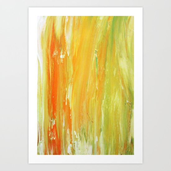 Abstract Painting 14 Art Print