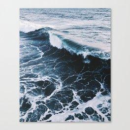 Marble Ocean Canvas Print