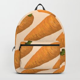 Beautiful Digital illustration of carrots Backpack