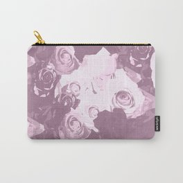 Rose bouquet - beautiful roses from rose garden - vintage style Carry-All Pouch