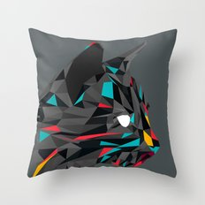 3D Cat Throw Pillow