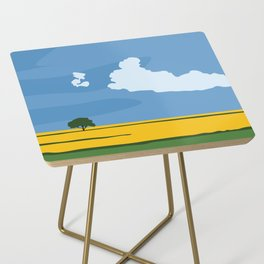 Wide Open Spaces Side Table