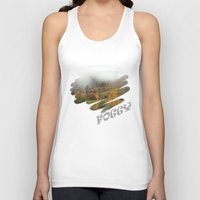 fog Tank Tops featuring FOG by Avigur