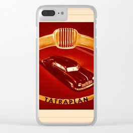 Automotive Art 226 Clear iPhone Case