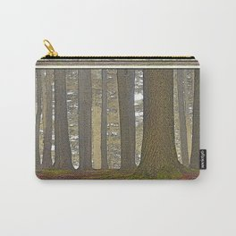 DEEP WOODLAND OF ORCAS ISLAND Carry-All Pouch