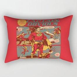 Captain Obvious! Rectangular Pillow