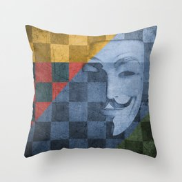 Patchwork 2: The Quickening Reloaded Throw Pillow