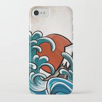 hokusai iPhone & iPod Cases featuring Hokusai comic by Nxolab