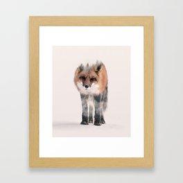 hondo kitsune Framed Art Print