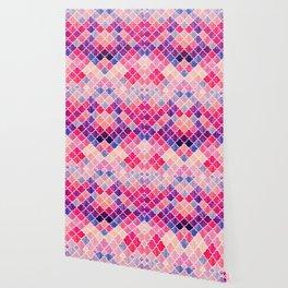Watercolor Lovely Pattern VVXII Wallpaper