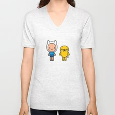 #48 Jake and Finn Unisex V-Neck