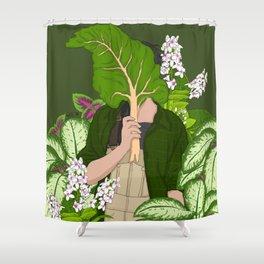 Loving Garden Shower Curtain
