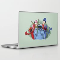 cookie Laptop & iPad Skins featuring cookie monster by ErsanYagiz