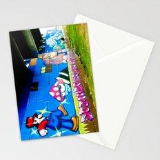 Graffiti under the bridge (Mario Bros). Stationery Cards