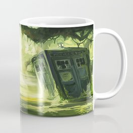 Tardis In The Swamp Coffee Mug