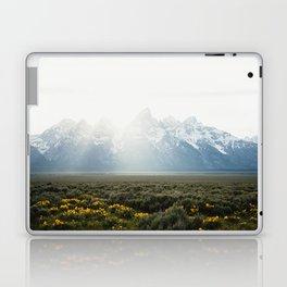 Sunset Behind the Tetons Laptop & iPad Skin
